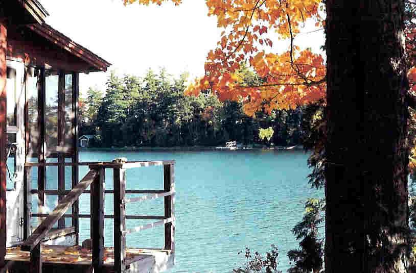 maine lake image